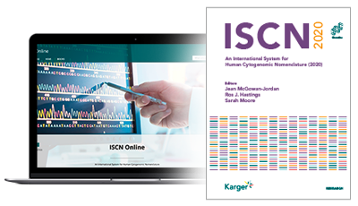 Image: ISCN book cover and Laptop